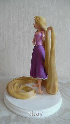 Disney Rapunzel Tangled maquette archives showcase limited edition figurine