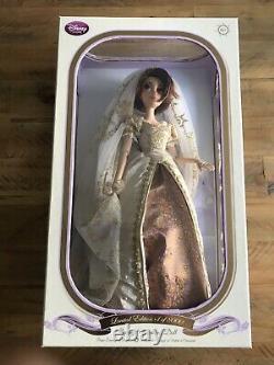 Disney Store 17 Wedding Tangled, Rapunzel Bride Limited Edition Doll