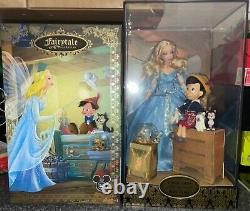 Disney Store D23 Pinocchio & The Blue Fairy Limited Edition Doll Nrfb 1 Of 1023