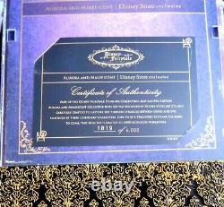 Disney Store Fairytale Designer Maleficent & Aurora Doll Set Ltd Edition