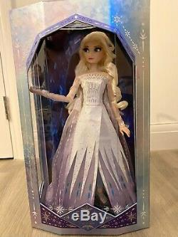 Disney Store Frozen 2 Elsa The Snow Queen 17 Doll Limited Edition SOLD OUT