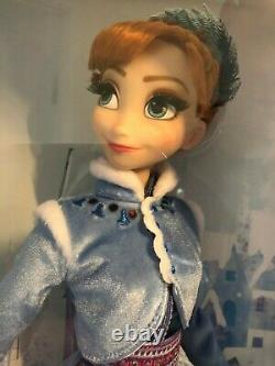 Disney Store Limited Edition 17 Anna Doll Olafs Frozen Adventure Collectable LE
