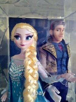 Disney Store Limited Edition Elsa And Hans Dolls Frozen Fairytale Designer