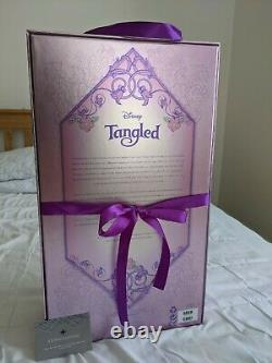 Disney Store Rapunzel Tangled Limited Edition Doll 10 year anniversary
