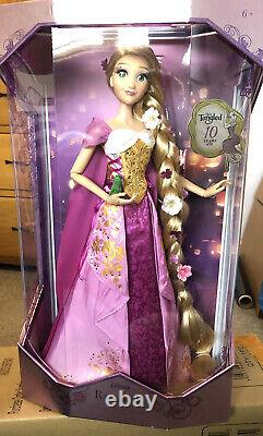 Disney Store Rapunzel Tangled Limited Edition Doll FAST & FREE SHIPPING