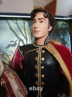 Disney Store Snow White & The 7 Dwarfs & Prince Platinum Limited Edition Dolls