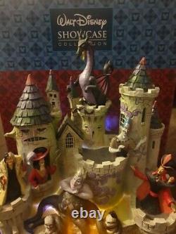 Disney Tradition Villain Castle Tower Of Fright RARE