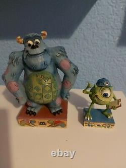 Disney Traditions Jim Shore Mike And Sully Monsters Inc RARE