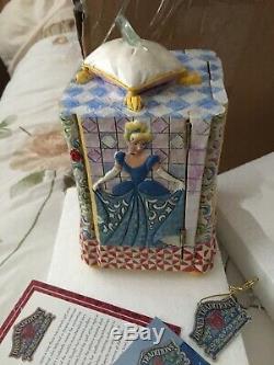Disney tradition'cinderella jewellery box' Rare, Jim Shore, Showcase Enesco