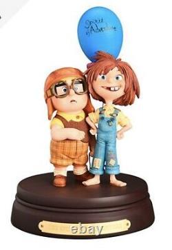 Disneyland Paris Statue by Kevin & Jody, Up Carl & Ellie figurine Limited Ed New