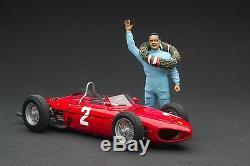 Exoto XS 118 1961 Ferrari Dino 156/120 Phil Hill Figurine # GPC97204F2
