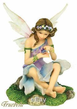 Faerie Glen Woodland Series Limited Edition Fairy Figurine Set of 4 Retired