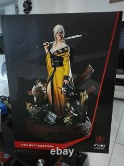 Figurine Ciri Kitsune, Witcher 3, Limited edition 944/1200