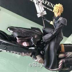 Final Fantasy Seven Cloud & Fenrir Limited Edition Action Figure