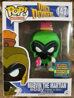 Funko Pop! Marvin the Martian #143 LTD 1000PCS SDCC 2017