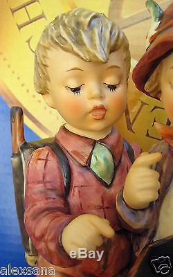 Goebel Hummel Figurine Hum #170/iii School Boys Tm8 Limited Edition Nib $3200