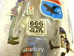 Gorillaz Figure Kidrobot Kid Robot Red Edition 4 Body Set Limit Rare Band Damon
