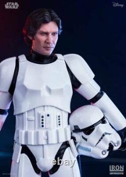 Han Solo Stormtrooper Statue Iron Studios Star Wars Figure 110 Limited Edition