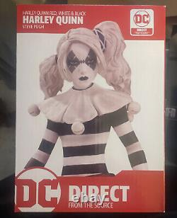Harley Quinn Red White Black Statue DC Direct Limited Edition (NEW) Figurine