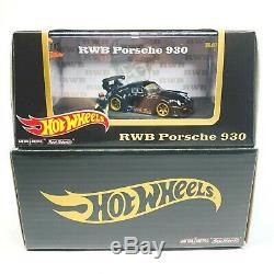 Hot Wheels RLC Exclusive RWB Porsche 930 with Akira Nakai Figurine New Fast Ship