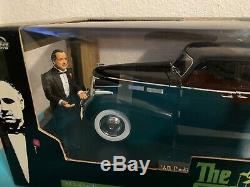 JADA 118 THE GODFATHER 40 Cadillac Fleetwood 75 series with Figurine RARE