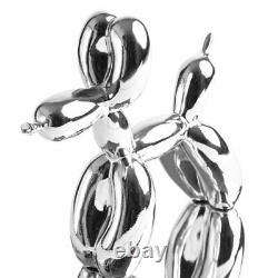 Jeff Koons (after) Silver Balloon Dog limited edition Editions Studio with CAO