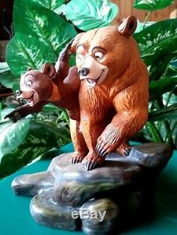 KENAI AND KODA WDCC LTD. ED. BROTHER BEAR FIGURINE BROTHERLY TIME, withPORTFOLIO