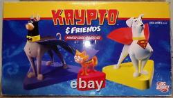 KRYPTO & FRIENDS Ltd Ed MAQUETTE #445/500 DC Direct Superman Bathound & Streaky