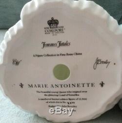 Large COALPORT MARIE ANTOINETTE Femmes Fatale Ltd Ed, By John Bromley