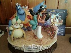 Laurenz LZD-75 Capodimonte Disney Figurine, GROUP HUG, from ALADDIN, Ltd. Ed. #13/250