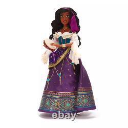 Limited Edition Disney Esmeralda Doll 25th Anniversary NEW! IN HAND UPS 24H