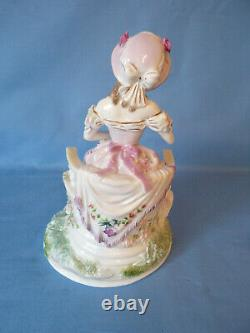 Limited Edition Royal Worcester Figure The Graceful Arts No 2342 Maureen Halson1