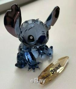 Limited Edition Swarovski Crystal Disney Stitch Figurine Discontinued in Box
