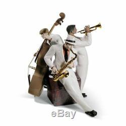 Lladro Jazz Trio Figurine. Limited Edition 01008568