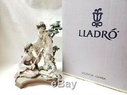 Lladro Society Oriental Music Porcelain Figurine 1491 Limited Edition IOB Geisha