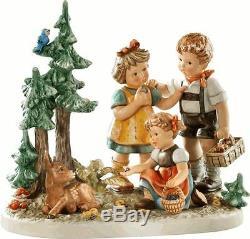 M I Hummel Follow That Fawn, 2320 Ltd Ed Masterpiece Figurine NEW IN BOX