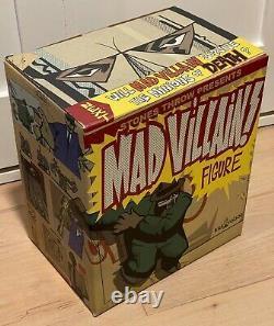 Madvillain Kid Robot x Stones Throw Vinyl Figure LTD Ed Green MF DOOM