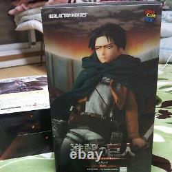 Medicom Attack on Titan Levi Real Action Heroes Figure RAH First Limited Edition