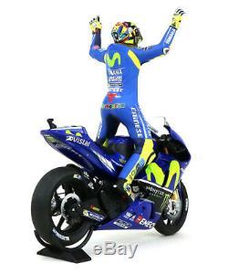 Minichamps Valentino Rossi Bike/Figurine Yamaha Assen MotoGP 2017 1/12 Scale