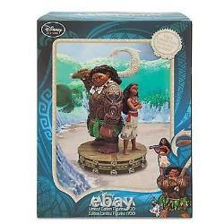 NEW Disney Maui and Moana Limited Edition 1700 Figurine Medium Fig 10