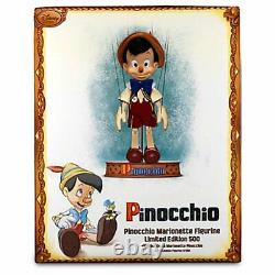 NIB Disney Limited Edition Pinocchio Marionette Figurine Doll Only 500 Made