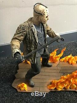 Neca Freddy Vs Jason 15 Resin Statue Set Diorama Limited Edition VERY RARE