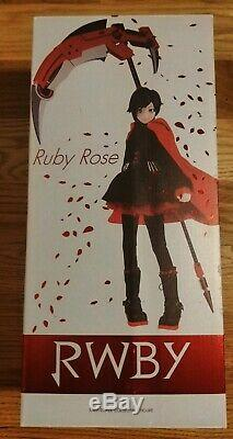 Official RWBY Limited Edition Ruby Rose Figure by Threezero Rooster Teeth