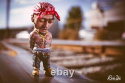 Plastic Cell Makavelzy Tupac Figure 2014 Limited Edition 20 of 40 100% Authentic