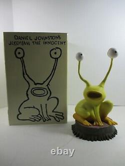 RARE Daniel Johnston's JEREMIAH THE INNOCENT 12 LTD Orange Frog Vinyl Figure