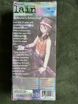 RARE LIMITED EDITION Toynami Serial Experiments Lain Action Doll Figure