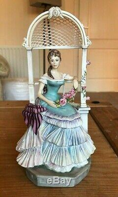 ROYAL WORCESTER VICTORIAN SERIES FIGURES LIMITED EDITION c. 1960's
