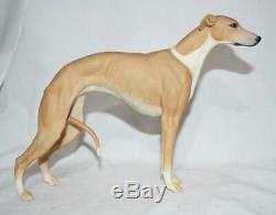 Rare Hutschenreuther Germany Limited Edition Grayhound Dog Figurine
