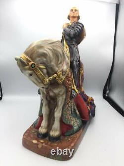 Rare Large DOULTON Limited Edition Figure St GEORGE HN2067 15x15 Inches