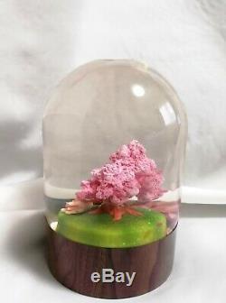 Rare Okami Amaterasu Figure Zekkei Ban Limited Edition Snow Globe from Japan